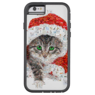santa claus cat - cat collage - kitty - cat love tough xtreme iPhone 6 case