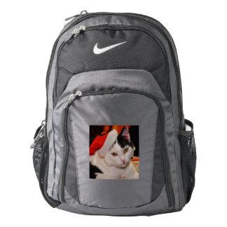Santa claus cat - merry christmas - pet cat backpack