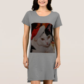 Santa claus cat - merry christmas - pet cat dress