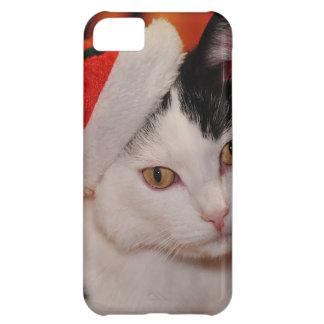 Santa claus cat - merry christmas - pet cat iPhone 5C cover