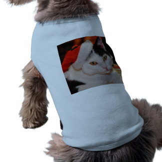 Santa claus cat - merry christmas - pet cat shirt