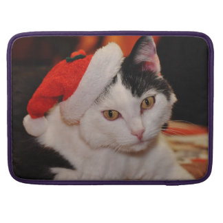 Santa claus cat - merry christmas - pet cat sleeve for MacBook pro