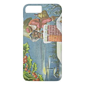 Santa Claus Chimney Presents Church Holly iPhone 7 Plus Case
