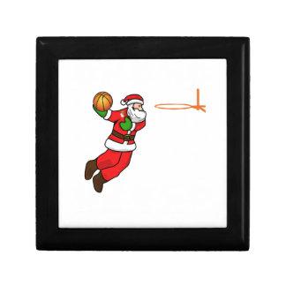 Santa Claus Christmas Basketball Player Gift Box