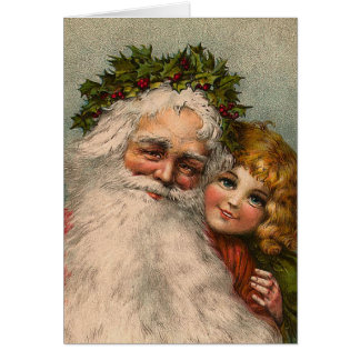 """Santa Claus"" Christmas Card"