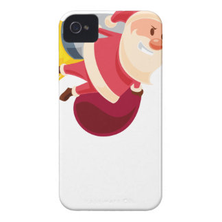 santa claus christmas Case-Mate iPhone 4 cases