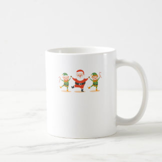 santa claus christmas coffee mug