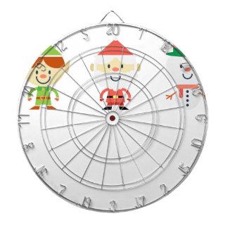Santa Claus Christmas Dartboard
