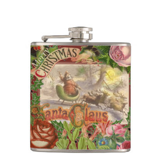 Santa Claus Christmas Flask