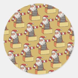 Santa Claus Christmas Fun Sticker