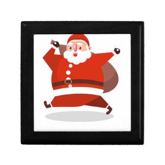santa claus christmas gift boxes