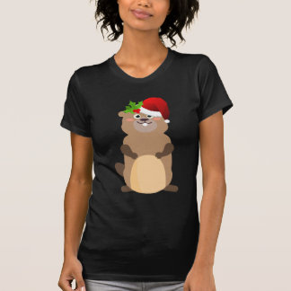 Santa Claus christmas gopher T-Shirt