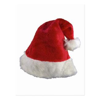 Santa Claus Christmas Hat Postcard