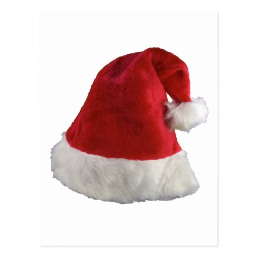 Santa Claus Christmas Hat Post Cards