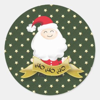 Santa Claus Christmas Ho Ho Ho sticker