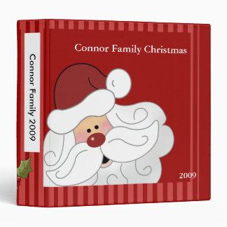 Santa Claus Christmas Holiday Family Photo album Binders