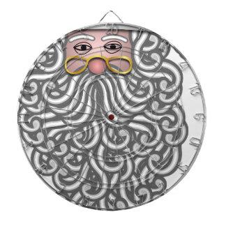 santa-claus christmas holidays joy dartboard