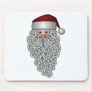 santa-claus christmas holidays joy mouse pad