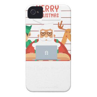 santa claus christmas iPhone 4 case
