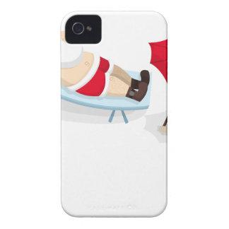 santa claus christmas iPhone 4 Case-Mate case