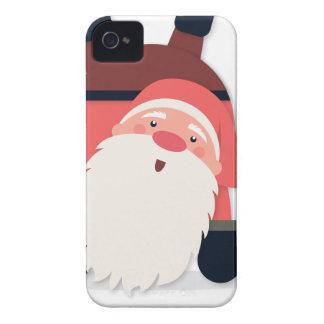 santa claus christmas iPhone 4 Case-Mate cases