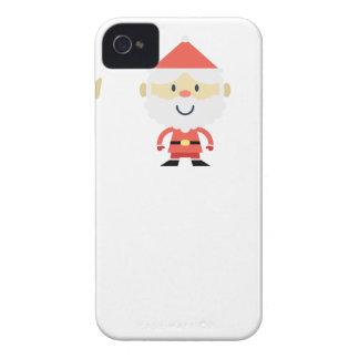 Santa Claus Christmas iPhone 4 Cases