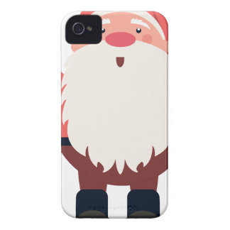 santa claus christmas iPhone 4 covers