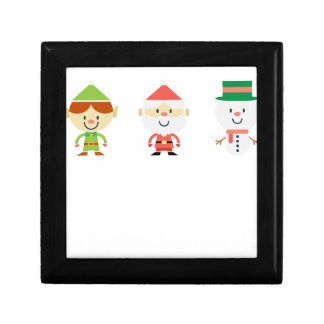 Santa Claus Christmas Jewelry Boxes