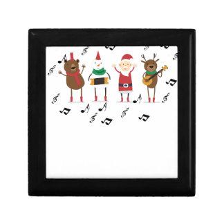 santa claus christmas keepsake box