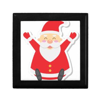 santa claus christmas keepsake boxes