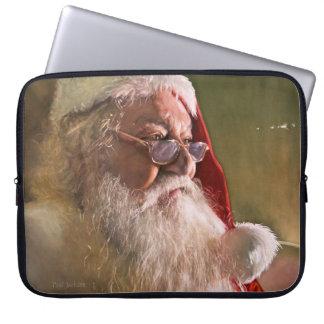 "santa Claus Christmas Laptop case 15"""