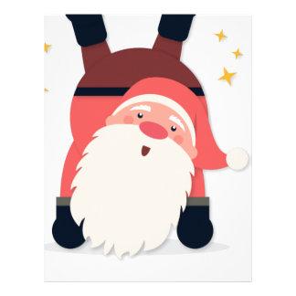 santa claus christmas letterhead