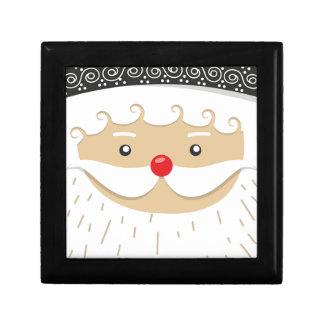 Santa Claus Christmas Motif Gift Box