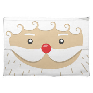 Santa Claus Christmas Motif Placemat