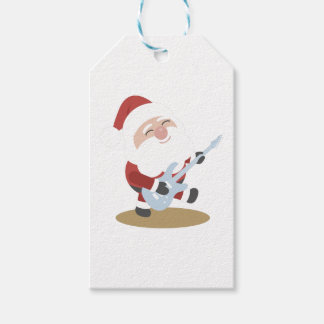 santa claus christmas pack of gift tags