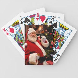 Santa Claus Christmas Poker Deck