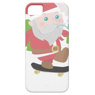 santa claus christmas reindeer snow man iPhone 5 covers