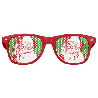 Santa Claus Christmas Sunglasses