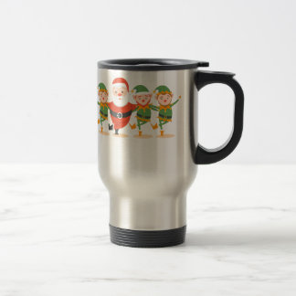 santa claus christmas travel mug