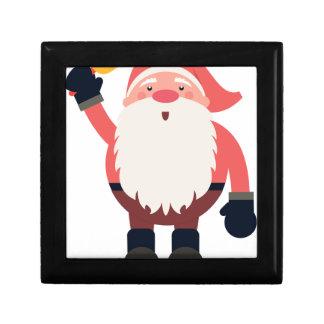 santa claus christmas trinket box