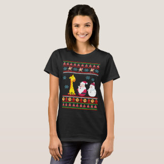 Santa Claus Christmas Ugly Sweater T-Shirt