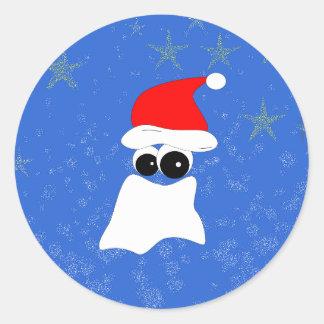 Santa Claus Classic Round Sticker