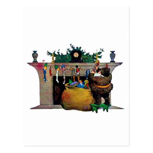 santa-claus-clip-art-5 postcard