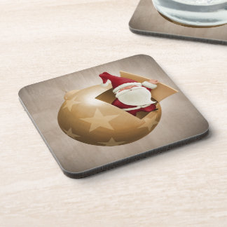 Santa Claus Coasters (set of 6)