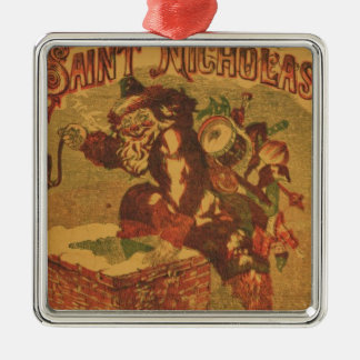 Santa_Claus_Cover_Art Metal Ornament