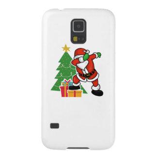 Santa claus dab christmas tree galaxy s5 cover