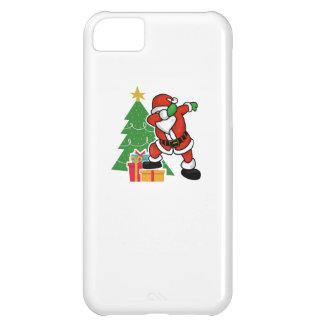 Santa claus dab christmas tree iPhone 5C cases
