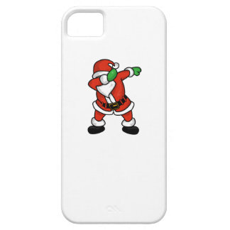 Santa Claus dab dance christmas T-shirt Case For The iPhone 5