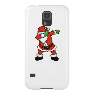 Santa Claus dab dance christmas T-shirt Cases For Galaxy S5