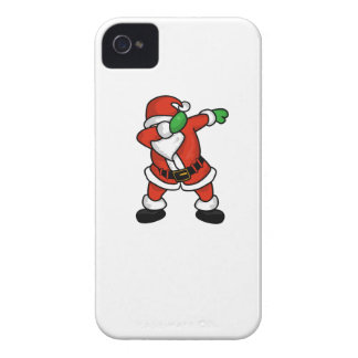 Santa Claus dab dance christmas T-shirt iPhone 4 Cases